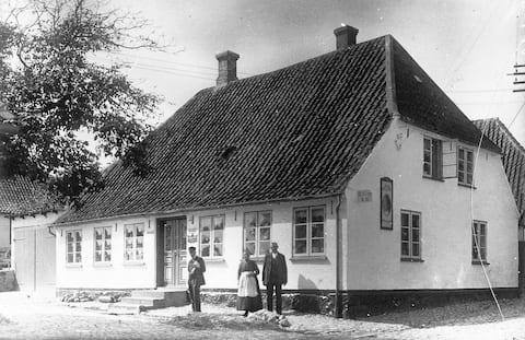 Rumah kota bagus di tengah - tengah Nordborg, Høkeri tua.