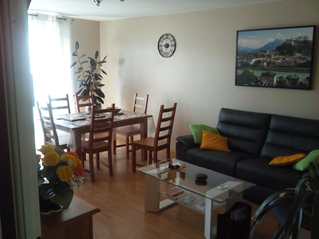 Spacious T3, quiet, near parc expo and Chantrerie