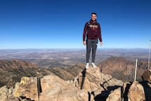New Years Day hike to the top of Emory Peak this year. Emory is the highest peak in Big Bend National Park and the second highest in Texas. It's a really fun and challenging hike out of the Chisos Basin Visitors Center with a nice little rock scramble at the end. The entrance to Big Bend NP is 25 miles from the property. It's a beautiful, relaxing drive to get to the park.
