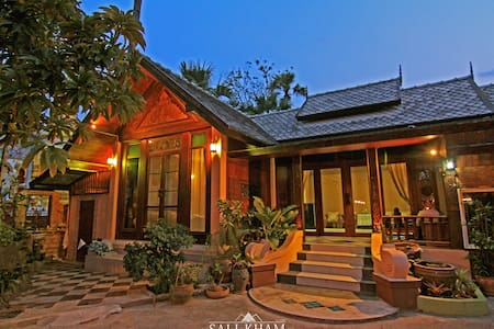 The Sali-Kham Traditional Lanna Home No.3 - Bed & Breakfast