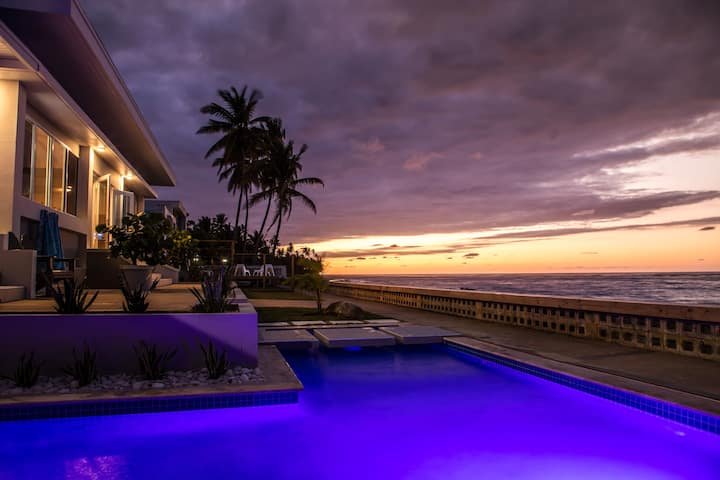 Luxury Oceanfront Home, The Reef House