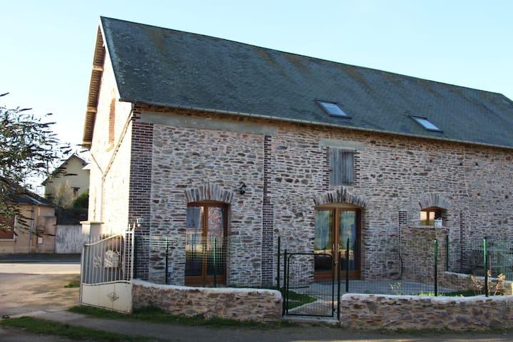 La Charetterie de la ferme de la baconnerie - Sainte-Marguerite-d'Elle - บ้าน