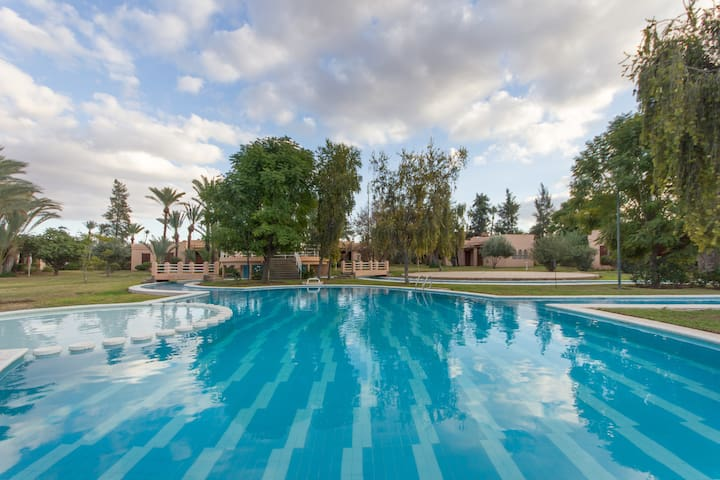 Cosy Villa with Pool, Palms Grove - Marrakech - Villa