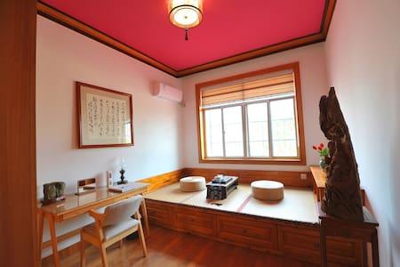 【免费品茗-诗意栖息】距荆州古城800米-古香楠庐·红丹楠