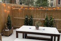 Bright Chelsea apartment with private patio!