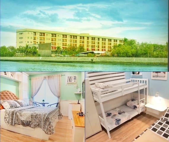Fully furnished 2BR Condo Unit beside Iloilo river