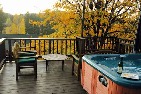 Hot Tub View-Walk to Lake & Village - Big Bear Lake - Rumah
