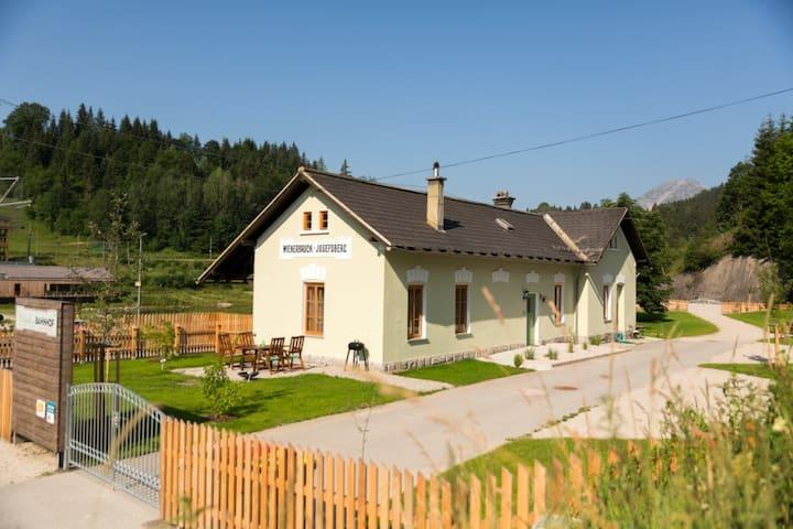 Urlaub am BAHNhof - Langseitenrotte - House
