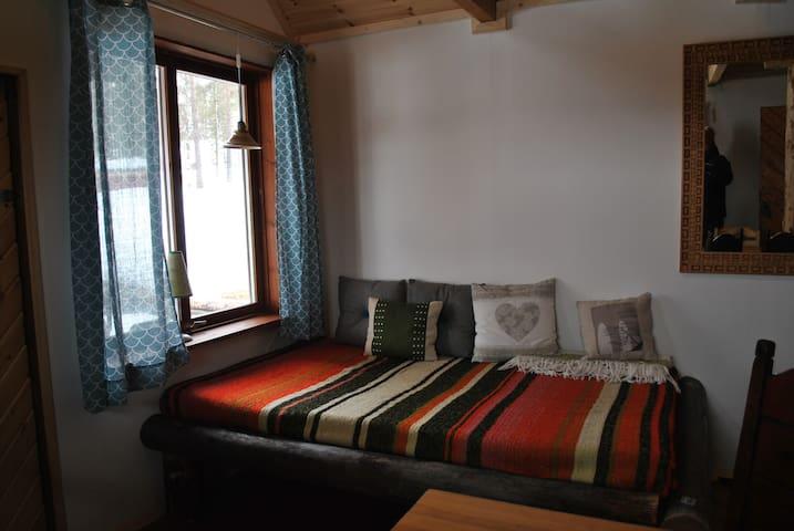 "Guest Cottage ""Marley"" - Porjus - Cabana"
