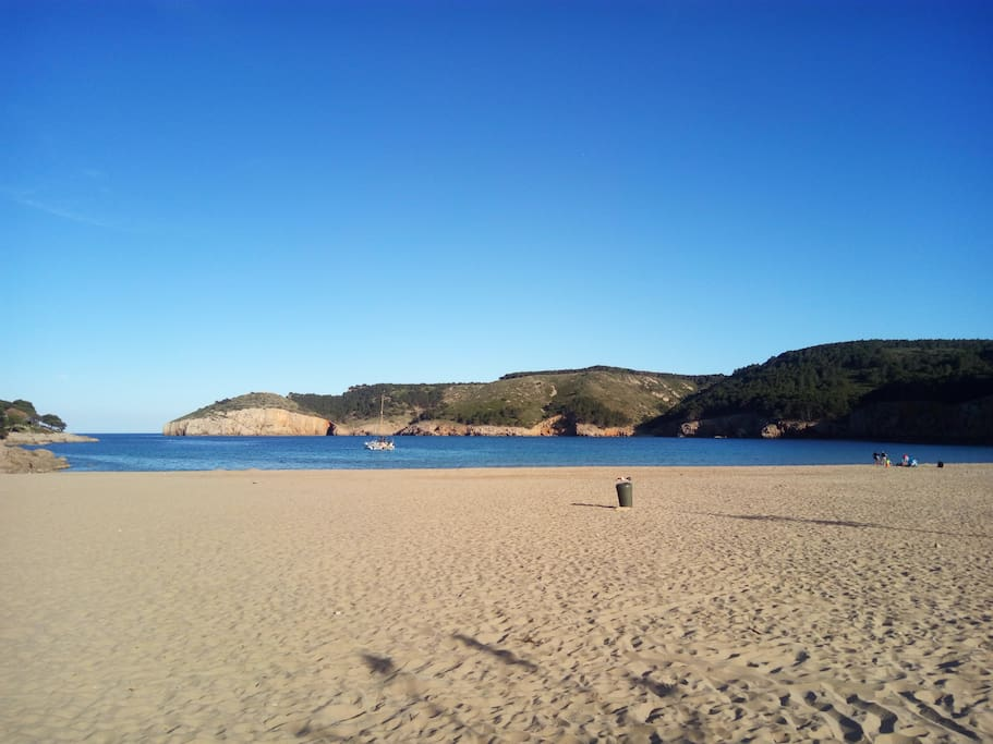 Beautiful Montgo Bay Beach, only 10 minutes walk from apartment