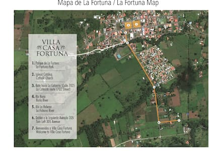 Villa CasaFortuna - La Fortuna - Villa