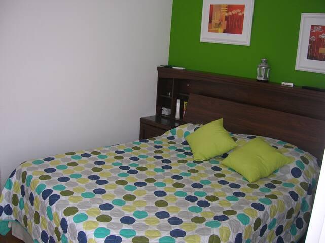 Apart La Barra Habitacion c/baño para 2 - La Barra - Teljesen felszerelt lakás