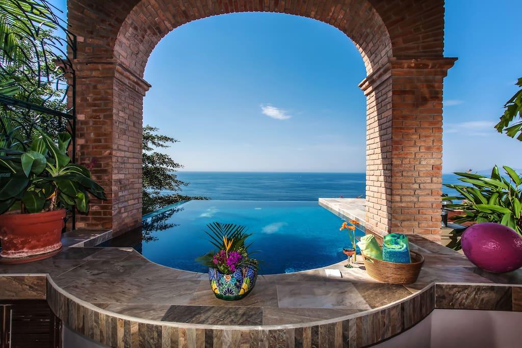 Infinity Pool over Banderas Bay