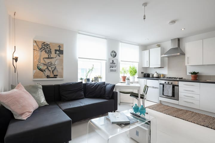 MODERN BRIGHT FLAT IN THE HEART OF HACKNEY