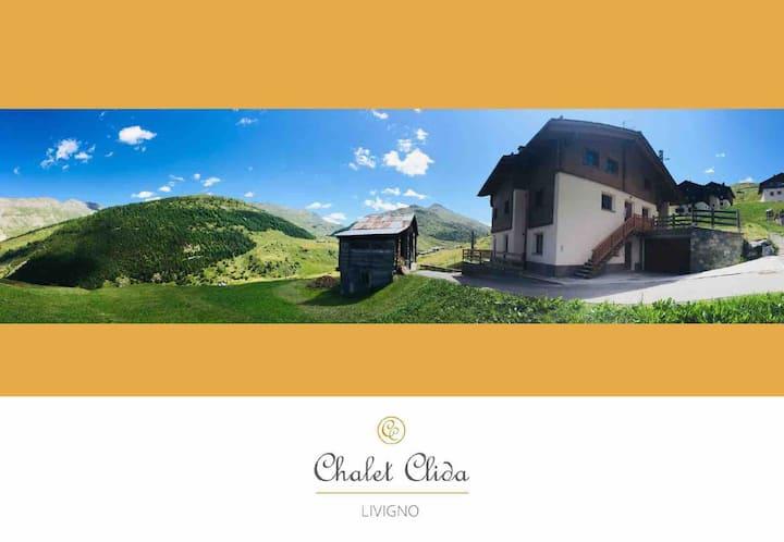Chalet Clida: grazioso chalet con vista sui monti