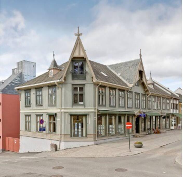 En av Lillehammer bys elste hus
