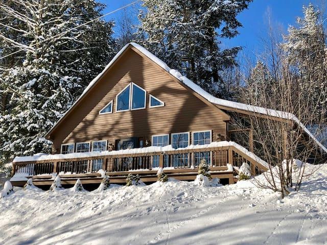 The Perfect Adirondack Getaway Waterfront Cabin