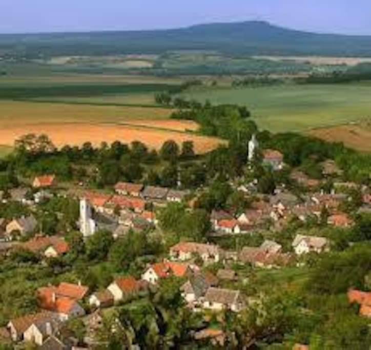 Kapolcs Village in Arts valley
