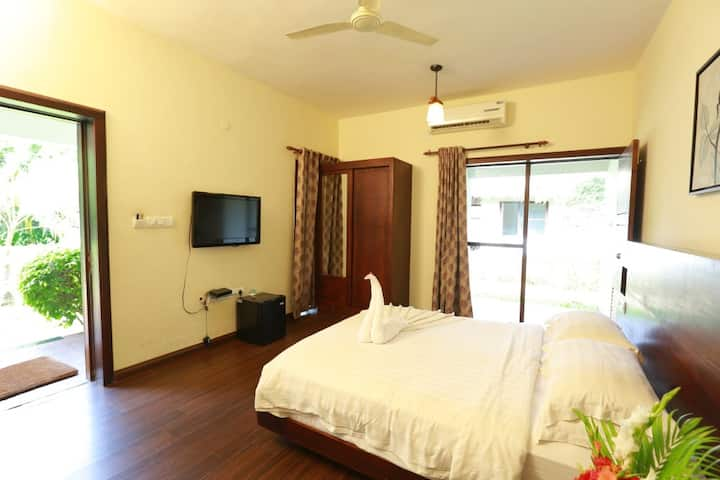 Air Conditioned room in a Backwater Resort