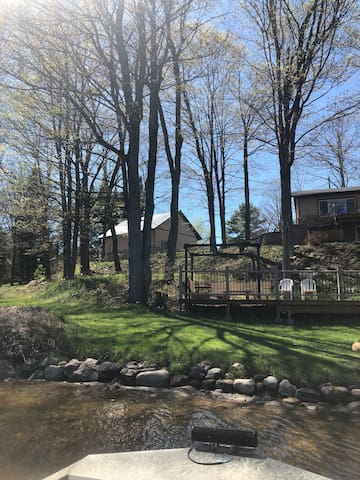 Madawaska River house/ cottage rental.