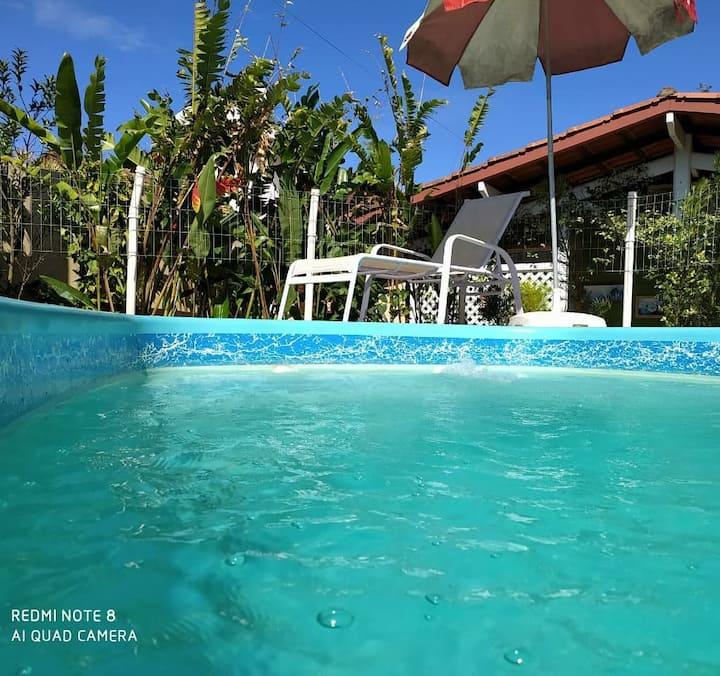 Recanto RaVi - ap 01 - 01 dormitório com piscina