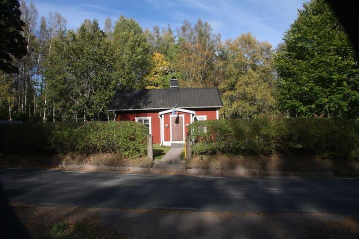 Der Eingang zum Grundstück