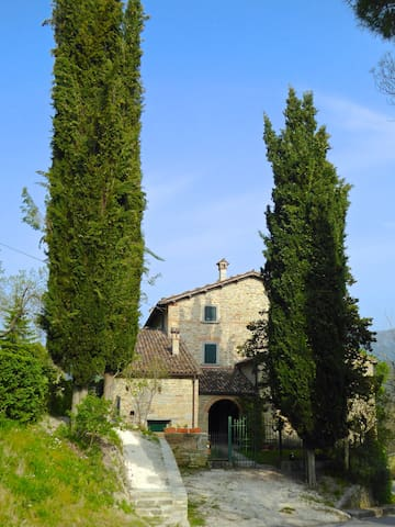 Charming country house between Romagna andTuscany - Tredozio - Apartament