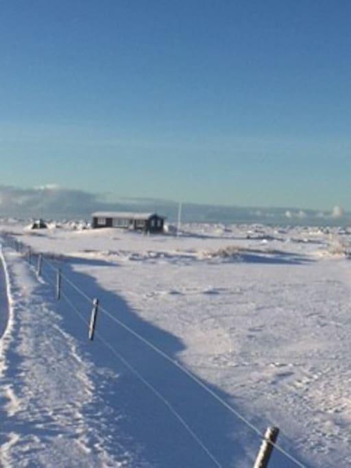 Brimstaðir in winter