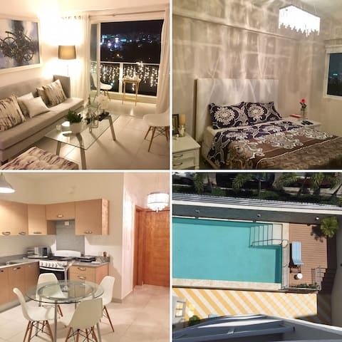 NEW APT CENTRAL LOC W POOL AND GYM - Santo Domingo - Apartment