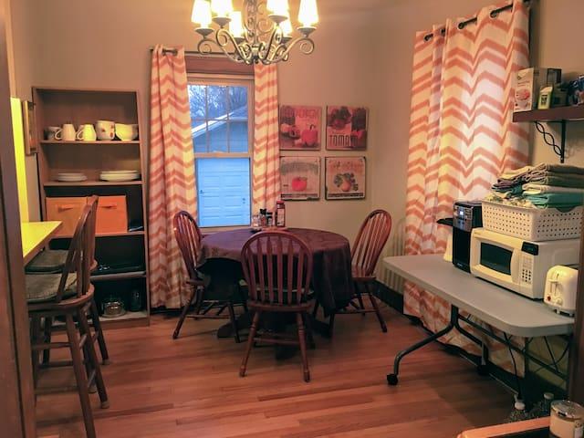 Guest room in cozy two bedroom home