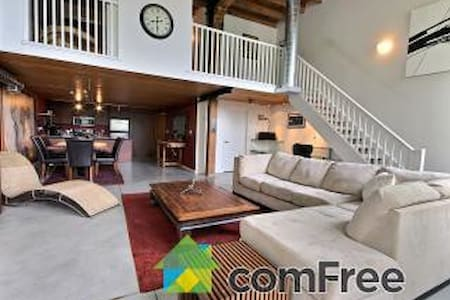 Beautiful, modern, quiet, fully furnished loft - Cambridge