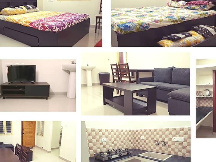 Chippy Apartment Furnished 2bhk/1bhk @Madipakkam E