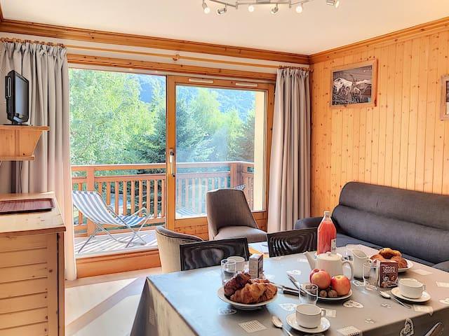 Beautiful apartment of 39m² in les Grangeraies