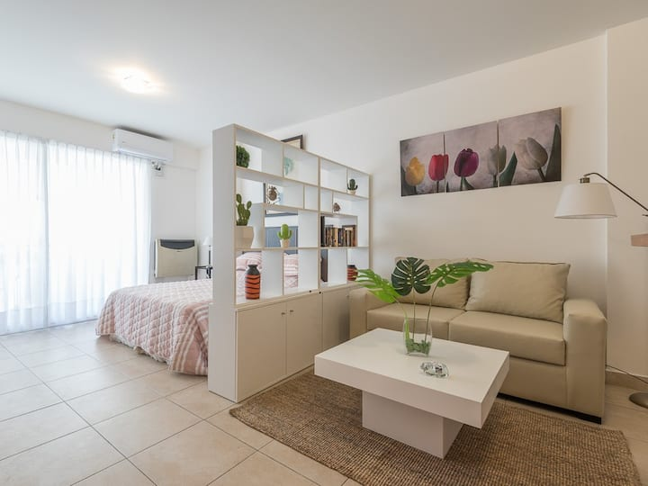 Cómodo apartamento en Palermo amoblado, con balcón