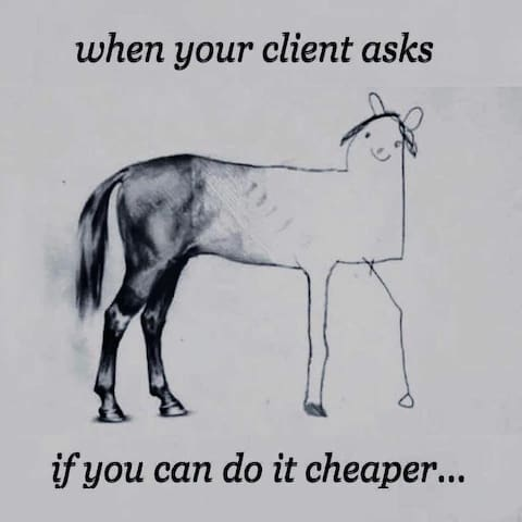 """When your guests ask """"Can you do it cheaper?"""""""