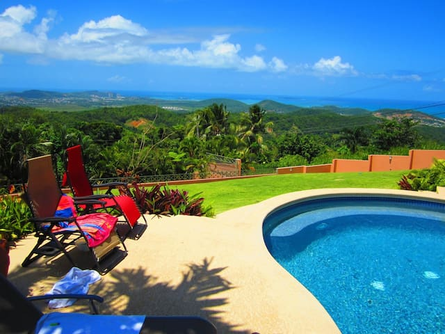HIDDEN PARADISE! SPECTACULAR OCEAN VIEW, GETAWAY! - Ceiba - Casa