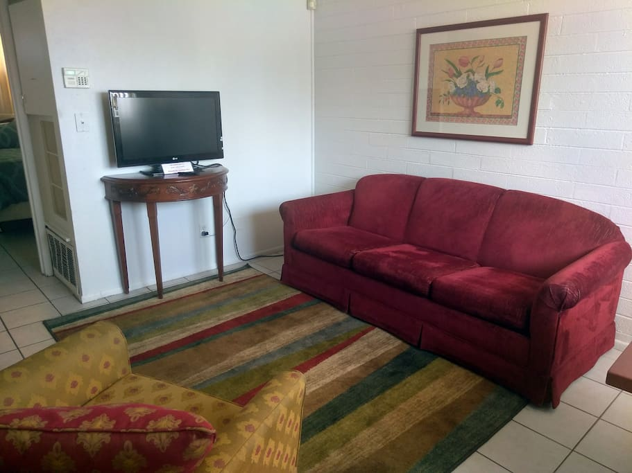 Enjoy all the comforts in a fully-furnished home.