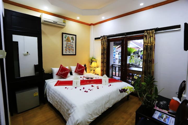 Cozy double room with private balcony