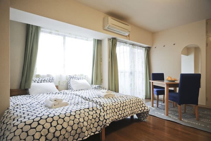 Cozy West Shinjuku Studio with Bag Drop!! - Nakano-ku - Leilighet