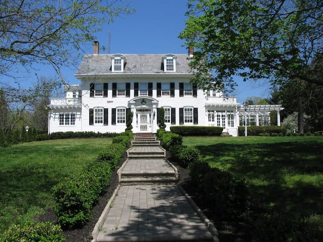 Historic Estate Between NY and Philadelphia - Trenton - Huis