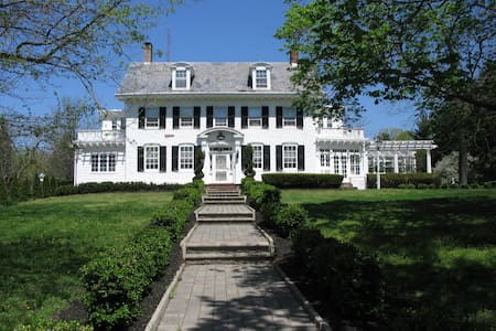 Historic Estate Between NY and Philadelphia - Trenton - Hus