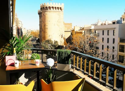 New renovated Terrace towers center - València - Pis