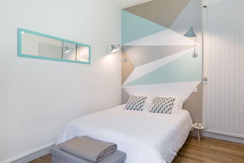 La chambre (linge de lit fourni)