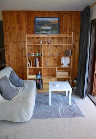 Pra-Loup 1500,  appart. au calme proche remontées - Uvernet-Fours - Apartamento