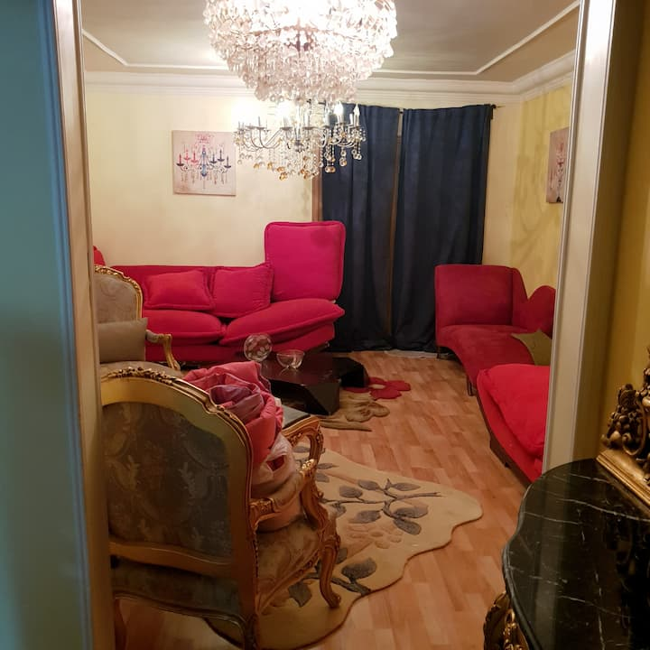 90 m2 with two bedroom in Al Rehab City