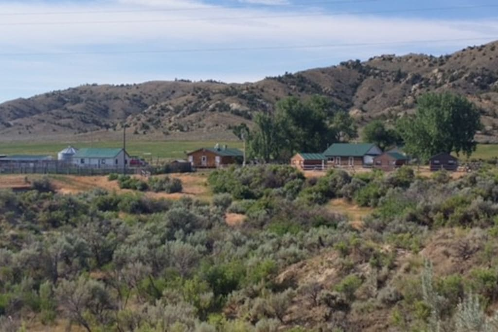 This is our home, Grass Creek Ranch!