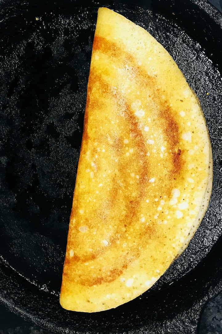 Dosa (A kind of South Indian Bread)