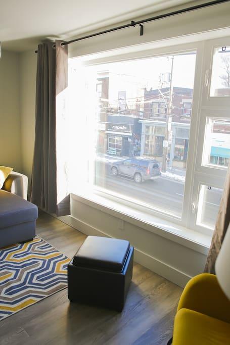 Window Detail - A view of Bathurst Street