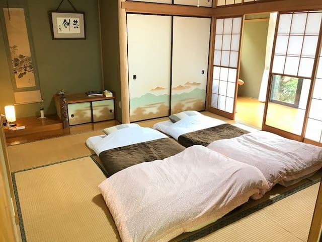 Yugawara Japanese villa up to 6person & 3car park