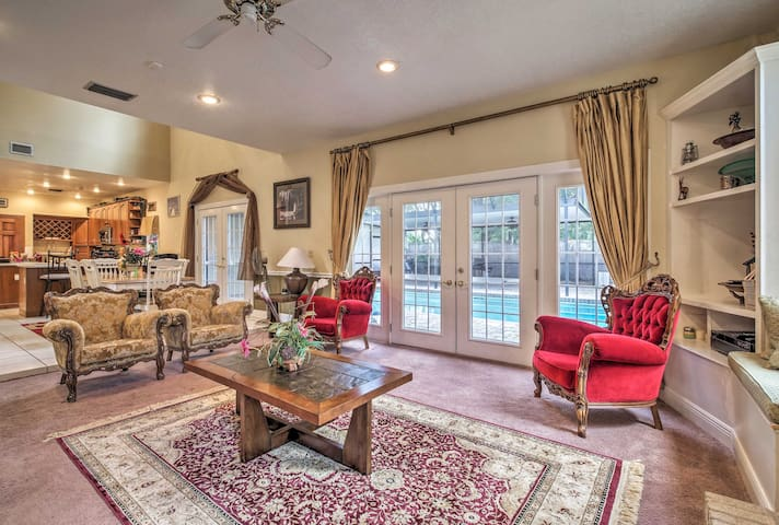 Charming Longwood Home w/ Pool & Theater Room!